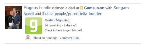 facebook deals gamsun